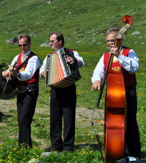 Traditional Music in the Mountains