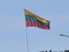 Klaipeda Port - Lithuanian Flag
