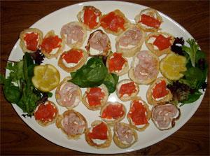 Blini Platter