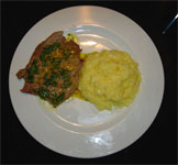 Veal Escalope & Saffron Rice