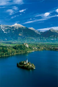 Lake Bled. Photo credit: J. Skok