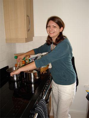 Charlotte J - stirring. Photo Credit: Jill Robinson