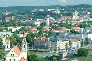 Vilnius. Credit: V Valužis