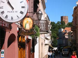 Vilnius Old Town. Credit: V. Valužis