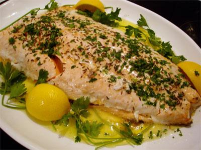 Czech Baked Salmon