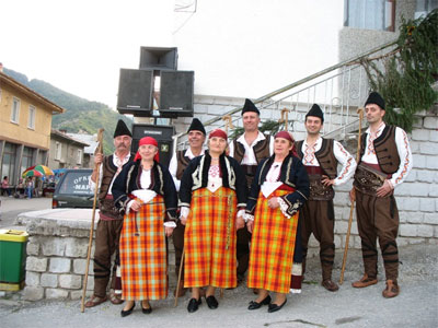 Folklore Group in Orehovo
