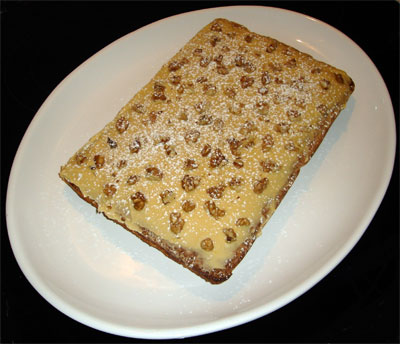 Balkan Walnut & Coffee Slice