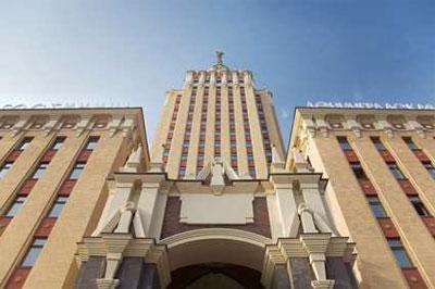 Moscow Leningradskaya Hotel, Russia