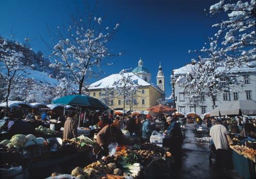 Ljubljana in December