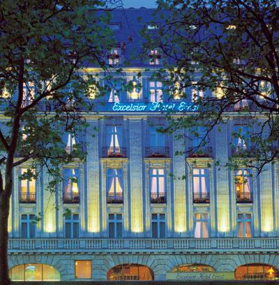 Facade Excelsior Hotel Ernst