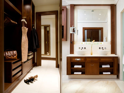 Walk-in-wardrobe & Bathroom