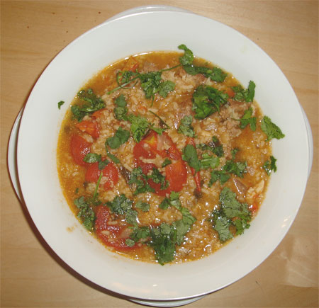 Harcho - Georgian Lamb Soup
