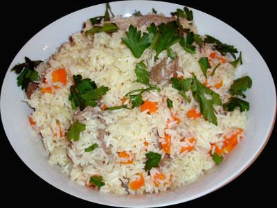 Uzbeki Lamb Pilaff