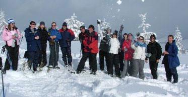 Skiing in the Tatras