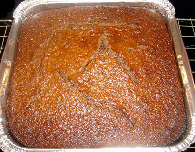 Traditional German Ginger Cake