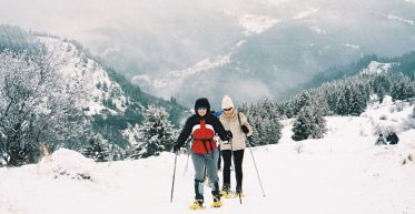 Snowshoeing in Bulgaria