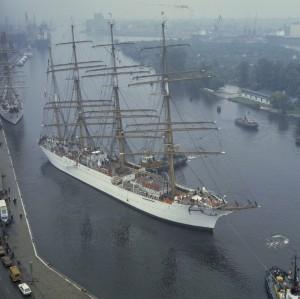 Szczecin: Tallshipps at Harbour