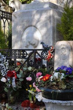 Chopin's Grave, Paris