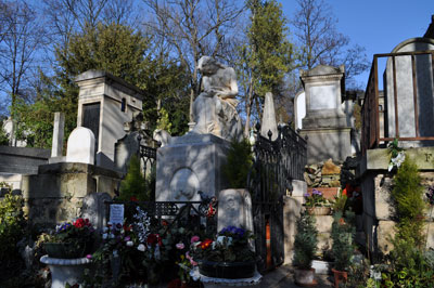 Chopin's Grave, Paris
