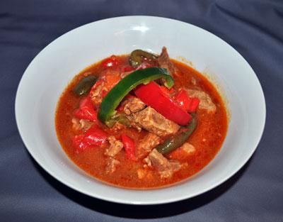 Hungarian Pork Porkolt