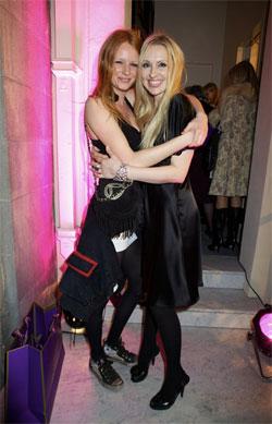 Olivia Inge with Olga Roh