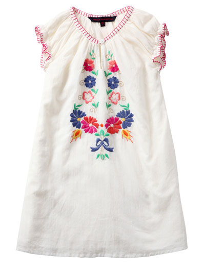 French Connection Hungarian Floral Dress