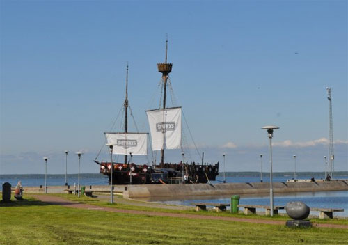 Pirate Ship Bar, Curonian Spit, Lithuania