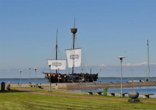 Pirate Ship Bar, Curonian Spit, Lithuania