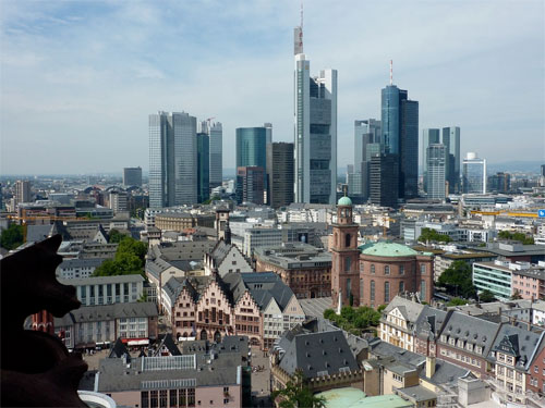 Frankfurt Cathedral View