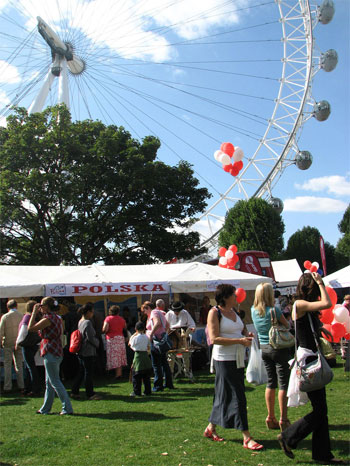 Polish National Tourist Office at Thames Festival 2009