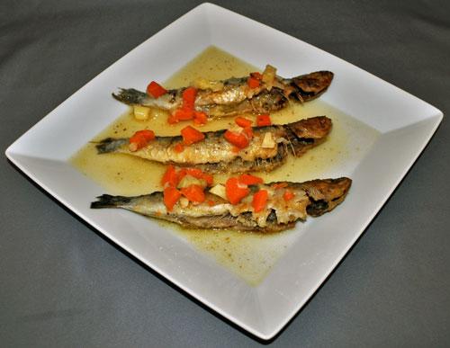 Russian Zakuski / закуски Recipe Marinated Sardines