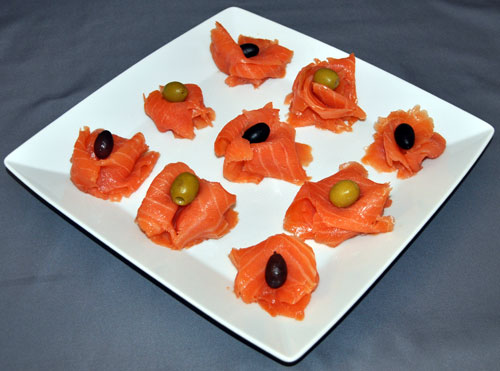 Russian Zakuski Salmon & Olives Recipe