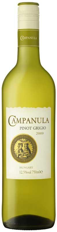 Hungarian Campanula Pinot Grigio 2009