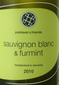Puklavec & Friends Furmint Sauvignon Blanc