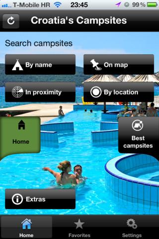 Croatia Camping App