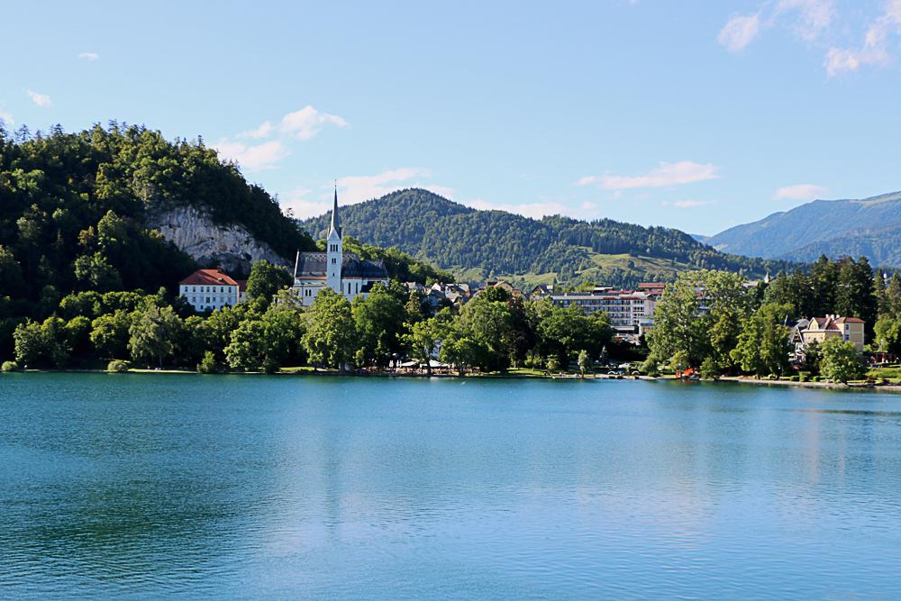 St Martin's Church Lake Bled