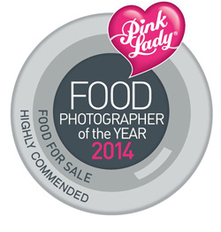 Pink Lady Food Photographer of the Year 2014 - Highly Commended